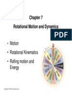 Rotational Motion & Dynamics