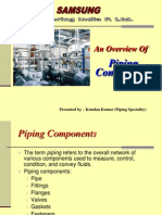 Mat Piping Components