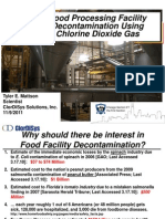 Decon - Chlorine Gas Application