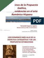 Los Caminos de La Propuesta Gaélica, Ideas y Evidencias en El Arte Románico Hispano