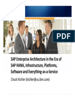 2309-SAP Enterprise Architecture in the Era of SAP HANA, Infrastructure, Platforms, Software and Everything-As-A-Service[1]