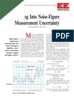 Noise Figure Measurement Uncertainty