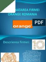 Prezenatarea Firmei Orange Romania