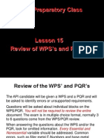 Lesson 15 Wps Pqr New2