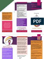 choose safe centre brochure for parents may 28th version for parents