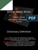 Power Point Similar Media Works