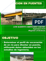 Guia Para Calculo de Socavacion General en Puentes