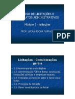 Curso de Licitacoes Contratos Administrativos AGU