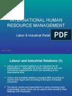 IHRM-Labour & IR