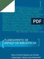 Planejamento Do Espaço de Bibliotecas