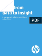 Shift From Data to Insight