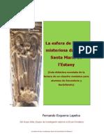 La Dama Guía Didáctica Novelada Del Claustro Románico de Santa María de l'Estany, Barcelona
