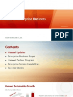Huawei Enterprise Business Introduction