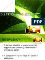 Disaster and Emergency