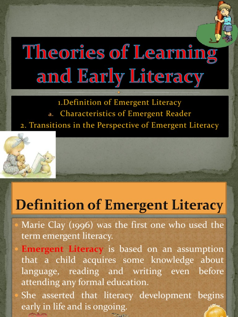 marie clay emergent literacy