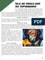 1º Epistola de Paulo Aos Brasileiros