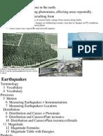 17 Earthquakes