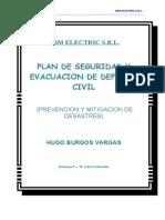Plan de Seguridad y Evacuacion Amb Electric Srl