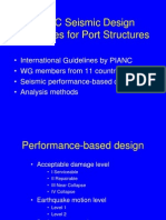 PIANC Seismic Design Guidelines of Port Structures