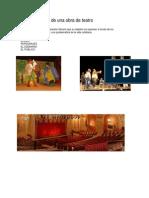 Características de Una Obra de Teatro