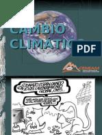 Cambio climático por incremento del efecto invernadero
