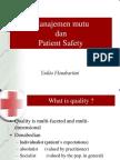 Manajemen Mutu Dan Patient Safety