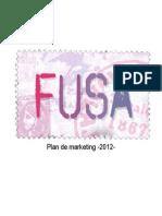 Plan de Marketing - Melisa Gonzalez y Celeste Vallebona - 2012