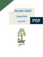 Dabur Corporate Profile Jan 14