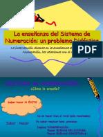 La Enseñanza Del Sistema de Numeración