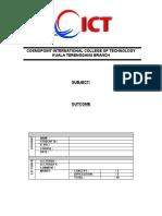 Cover Outcome CiCt