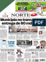 Periódico Norte edición del día martes 1 de julio de 2014