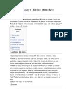 Autolisp Lección 2 - Medio Ambiente Autolisp