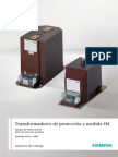 Catalogue Protective and Measuring Transformers m4 Es