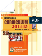 2014 15 Senior Curriculum Volume 1