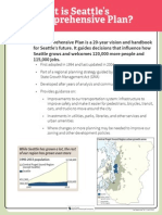 About Seattle's Comp Plan revisions