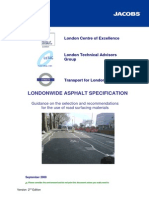 London Asphalt Specification Revision