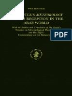 Paul Lettinck, Abū L-Ḵayr Ḥasan Ibn Suwār Ibn Al-Ḵammār, Ibn Bājja Aristotles Meteorology and Its Reception in the Arab World With an Edition and Translation of Ibn Suwārs Treatise On