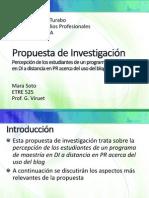 propuesta de investigacin