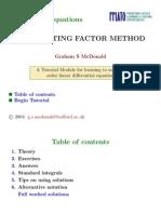 integral factor