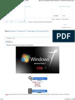 Windows 7 Ultimate SP1 Super Ligero ISO Español [UDL]