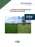 Alternativas Tecnológicas Para a Pecuária de Roraima