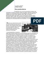 La Muerte de Dios Postmoderna - Entrevista Para La Prensa