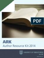 Author Resource Kit 2014 Univ of Toronto Press