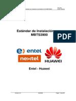 Estandar de Instalacion GUL Entel MBTS3900 V3.0