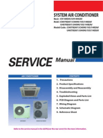 Samsung CAC (4 Way Cassette) Service Manual