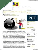 Como hacer ataques DDoS - Nivel principiante CMD.pdf