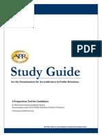 A Pr Study Guide