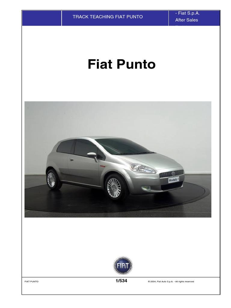 Fiat Grande Punto Service Manual Translated