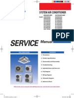 Samsung CAC (Global 4 Way Cassette) Service Manual