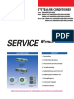 Samsung CAC (MSP Duct) Service Manual